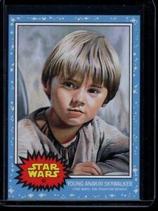 2019 Topps Star Wars Living Set #62 Young Anakin Skywalker SP Card Short Print