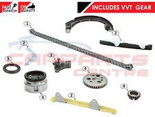 FOR TOYOTA YARIS 1.0 16V 1SZ-FE TIMING CHAIN FULL COMPLETE KIT WITH VVTi GEARS