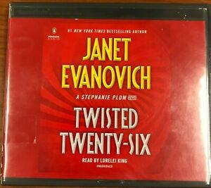 Twisted Twenty-Six CD, Janet Evanovich (ex libris), Audiobook