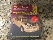 New Haynes 92007 Repair Manual Toyota Camry Avalon 1997-01 Lexus ES300 Solara