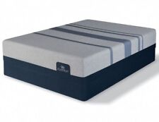 SERTA ICOMFORT BLUE MAX 5000 GEL LUXURY FIRM QUEEN MATTRESS + BOX 2 PC SET