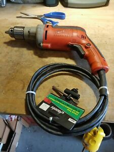 Milwaukee 3/8 Heavy Duty Corded Electric Drill