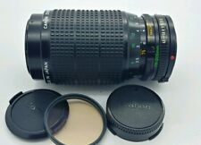 CANON FD manual zoom 75-200mm constant aperture F/4.5 Lens in EXCELLENT