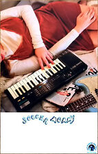 SOCCER MOMMY Collection 2017 Ltd Ed RARE New Poster +FREE Indie Pop Rock Poster!