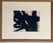 Franz Kline Original Abstract Ink Painting Framed/Matted