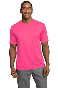 NEW Men's SPORT TEK Dri-Fit T-Shirt Polyester Sizes XS-4XL Running Workout Tee