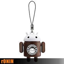 ANDROID COFFEE - Android Robot Mascot Keychain Portachiavi Swing BANDAI