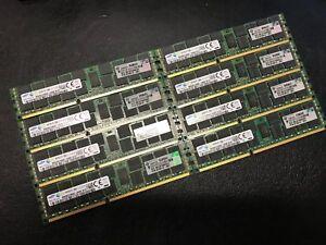 SAMSUNG 16GB PC3-12800R DDR3-1600MHz ECC REG M393B2G70BH0-CK 672612-081 SERVER