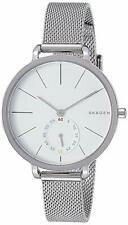 Skagen Women's SKW2358 Hagen Stainless Steel Silver-tone White Dial 34mm Watch