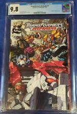 Transformers Armada #1 CGC 9.8 wp (2002) Dreamwave Prod. Comic