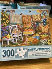 BB 300 Piece Puzzle Bits And Pieces Large Harvest Time