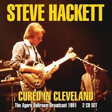 STEVE HACKETT of GENESIS New Sealed 2020 LIVE 1981 CONCERT 2 CD SET