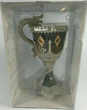 Harry Potter Ceramic Goblet Hogwarts School 14 oz (414 ml) 3D Sculpted Mug ~ New