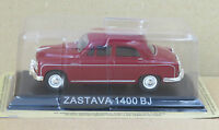 "DIE CAST "" ZASTAVA 1400 BJ "" LEGENDARY CARS SCALA 1/43"