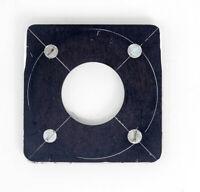 Busch Pressman 4X5  D Metal Lens Board For #0 Shutter