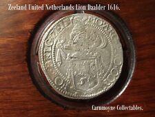 Zeeland United Netherlands Lion Daalder 1616. AH4452