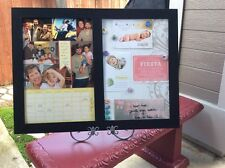 Creative Memories Large Calendar Frame & Magnetic Display/Dry Erase Board