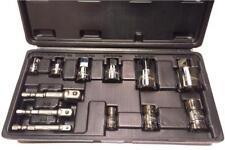 """Corona socket adaptors set 12 pcs, 1/4"""", 3/8"""" and 1/2"""" bit adaptors (Cor C4412)"""
