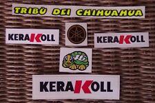 Helmet decal sticker Kit Set Valentino Rossi 2008 KERAKOLL - TRIBU'