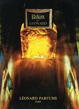 C- Publicité Advertising 1969 Parfum Fashion de Leonard