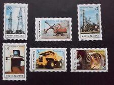 1986 - Romania - Romanian Industry ,Mi. 4306 - 4311 MNH