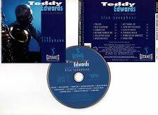 "TEDDY EDWARDS ""Blue Saxophone"" (CD) 1992"