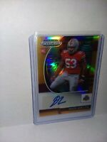 2020 Panini Prizm Draft Picks Davon Hamilton Orange Rookie Auto # 99/149