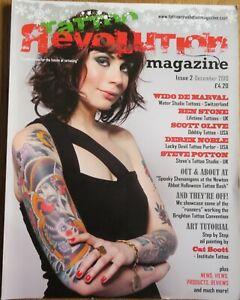 TATTOO REVOLUTION Magazine.....Issue 2..December 2010