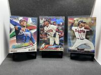 2018 Topps Series 1 Ozzie Albies Rookie Card #276 RC Lot (3) 📈 Invest 🔥