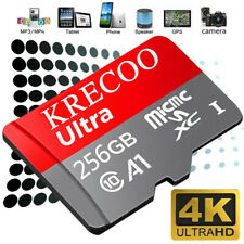 256GB 128GB 64GB Micro Speicherkarte Class10 275MB/s 4K Flash TF-Karte &  Adapte