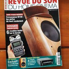 la Revue du son  N°340 de 2009 -6 enregistreurs testés sur le terrain- CA71