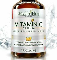 Anti-Aging Vitamin C Serum for Face with Hyaluronic Acid 1 oz
