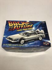Polar Lights Back To The Future Time Machine Model Kit New With Open Box!