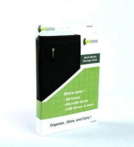 GiiNii Multi-Media Storage Case for SD Cards MicroSD Cards USB Zip Drives #113