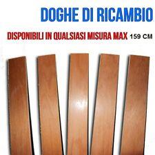 DOGHE DOGA PER RICAMBIO RETI  MAX 1590x68mm  DI FAGGIO PER RETE MATRIMONIALE