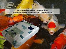 AllerPrimo Float Plus Koi-Premium-Futter Wachstum+Farbe(Astaxanthin) 15 kg, 6mm