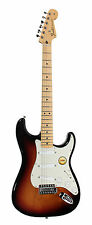 920D Fender Std Strat Mod Lace Sensor Blue, Silver, Red 25 DB Mid Boost w/Case