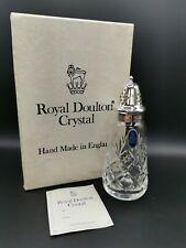 Royal Doulton Crystal Sugar Shaker Sifter