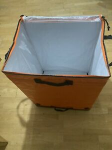 large heavy duty bags Waterproof  Bags Very Strong With Zip Easy Fold