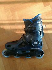 Rollers Rollerblade Noirs Taille 43 size 27,5 avec roues Decathlon S300 82A
