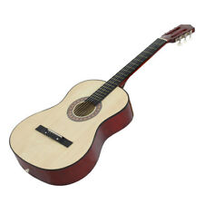 """38"""" Full size Starters Natural Acoustic Guitar Includes Guitar Pick Accessories"""