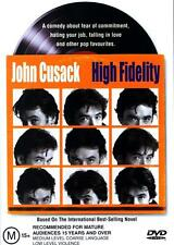 High Fidelity (2001) JOHN CUSACK GENUINE REGION 4 DVD NEW & SEALED