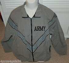 IPFU Army Coat Jacket MENS grey green color XL short SKILCRAFT