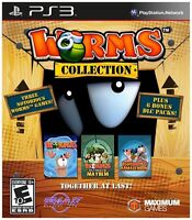 Worms Collection (Sony PlayStation 3, 2013)  New Sealed