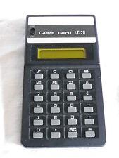 Calculadora Calculator canon card lc-20 (235)