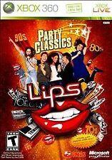 Lips: Party Classics (Microsoft Xbox 360, 2010)