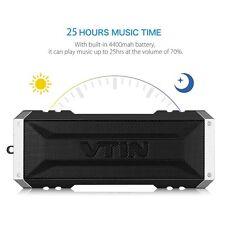VTIN 20W Bluetooth Wireless Speaker Stereo Deep Bass Speaker Portable Crashproof