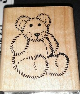Teddy bear,image that,C7,rubber, wood