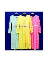 New Girls Maxi Dress  Summer Beach Muslim Holiday Abaya Islamic Top 7-13 Y