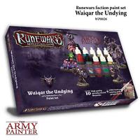 The Army Painter BNIB Runewars: Waiqar the Undying Paint Set APWP8026